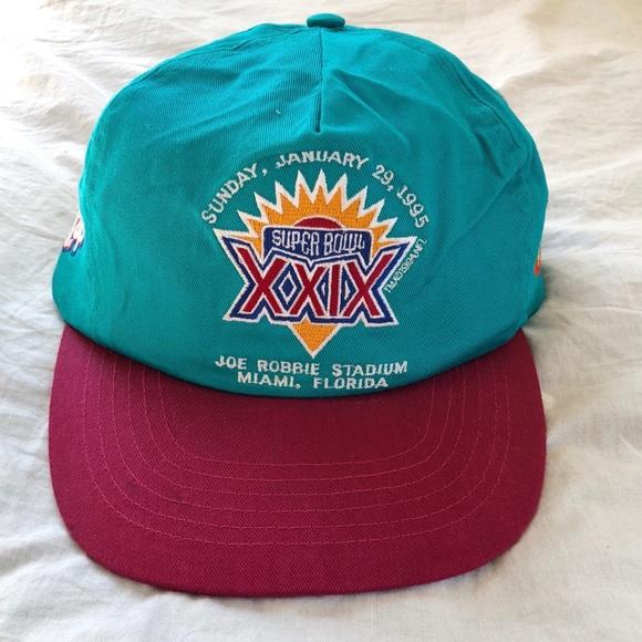 683f011756246a NFL Accessories | Vintage Super Bowl Xxix Hat 90s Snapback | Poshmark